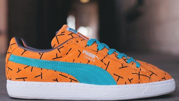 Puma Suede Classic Since '93 Blazing Orange/Black