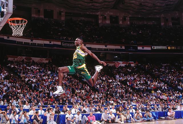 Slam Dunk Contest Sneaker History