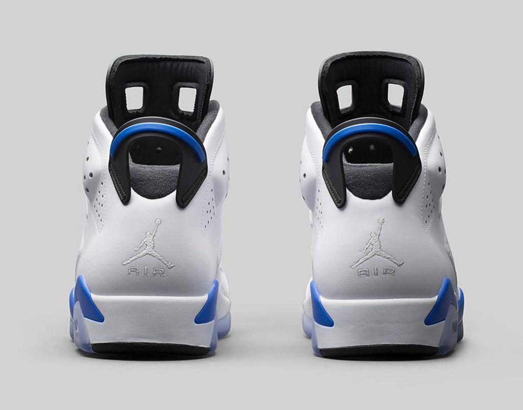e77ecde8415ac9 An Official Look At The  Sport Blue  Air Jordan 6 Retro