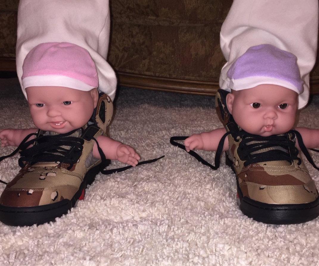Supreme Air Jordan Baby Sneakers