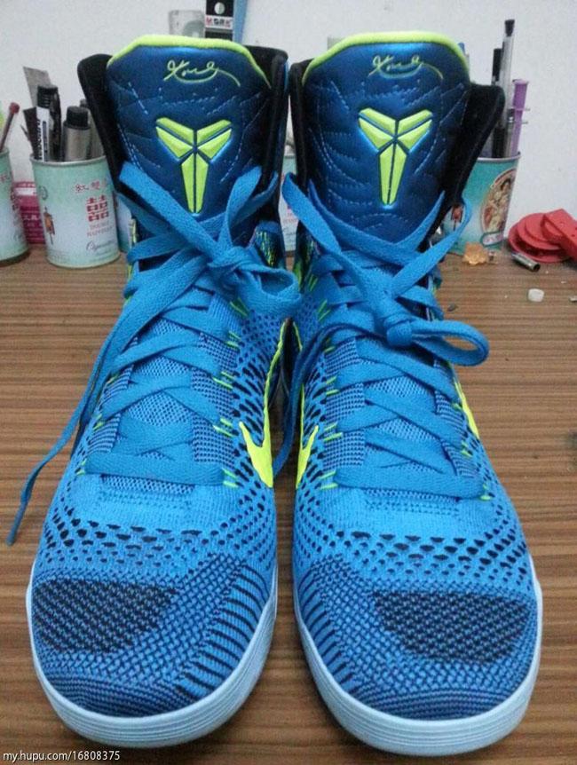 Nike Kobe 9 Elite Perspective Neo Turquoise Volt