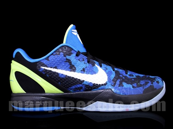 new product cdede 5f9f9 We re offered yet another look at this Summer s  Blue Camo  Nike Zoom Kobe  VI.