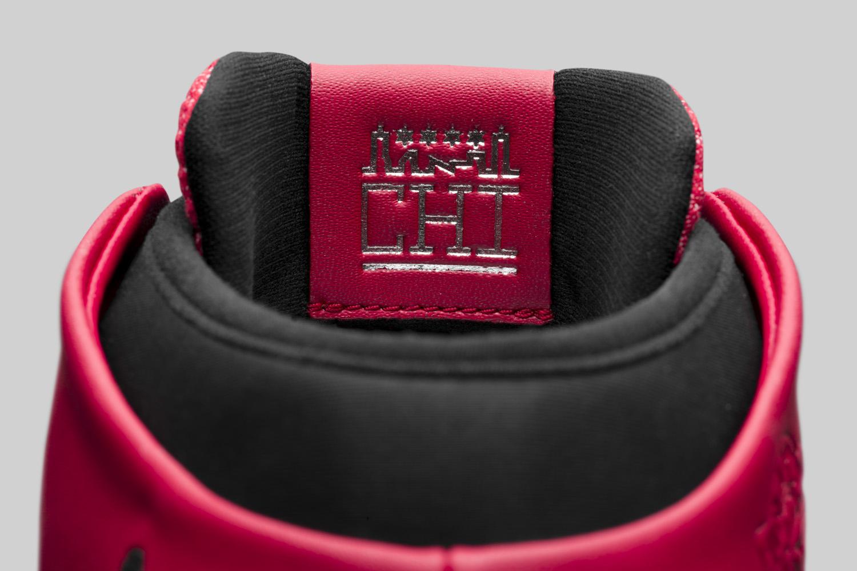 d9000d581a54 Image via Nike Chicago Air Jordan 31 845037-600 Tongue