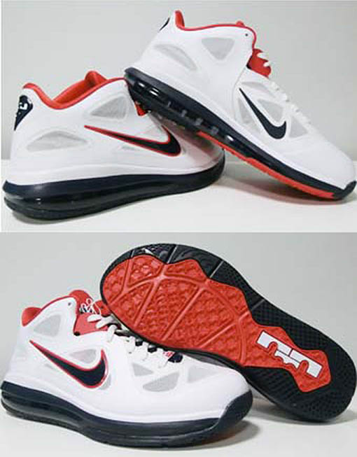 7860069ab5f Nike LeBron 9 IX Low USA Olympics 510811-101 (2)
