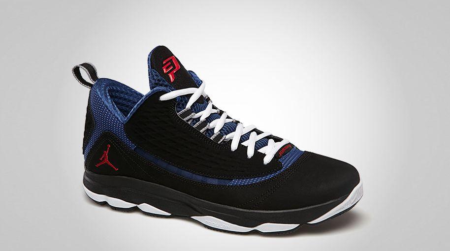 super popular 20f0c 57c8b Jordan CP3.VI AE Black True Red True Blue Cement Grey 580580-007 (