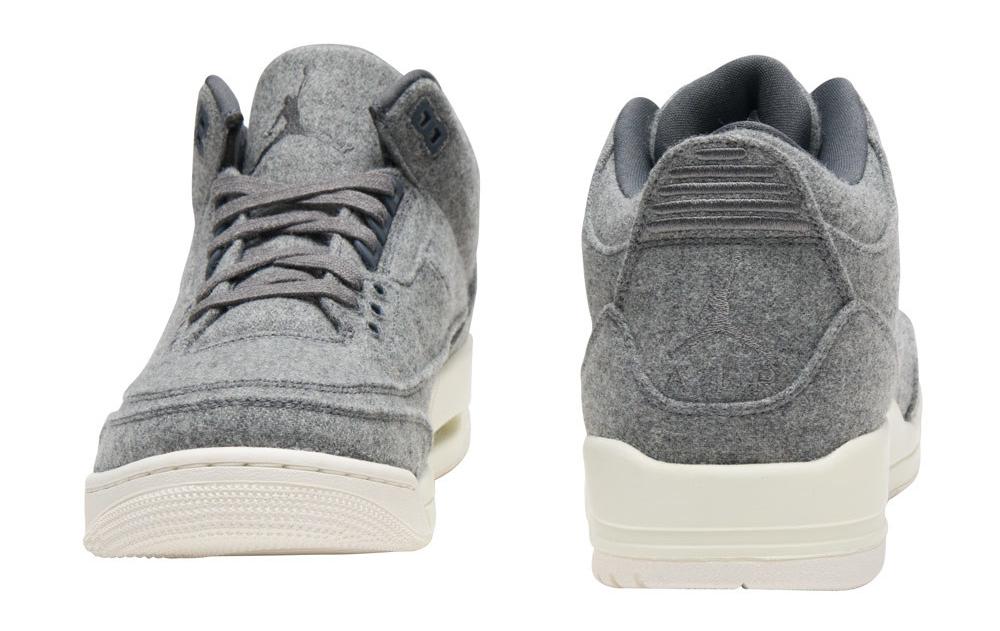 Wool Air Jordan 3 854263-004 Back
