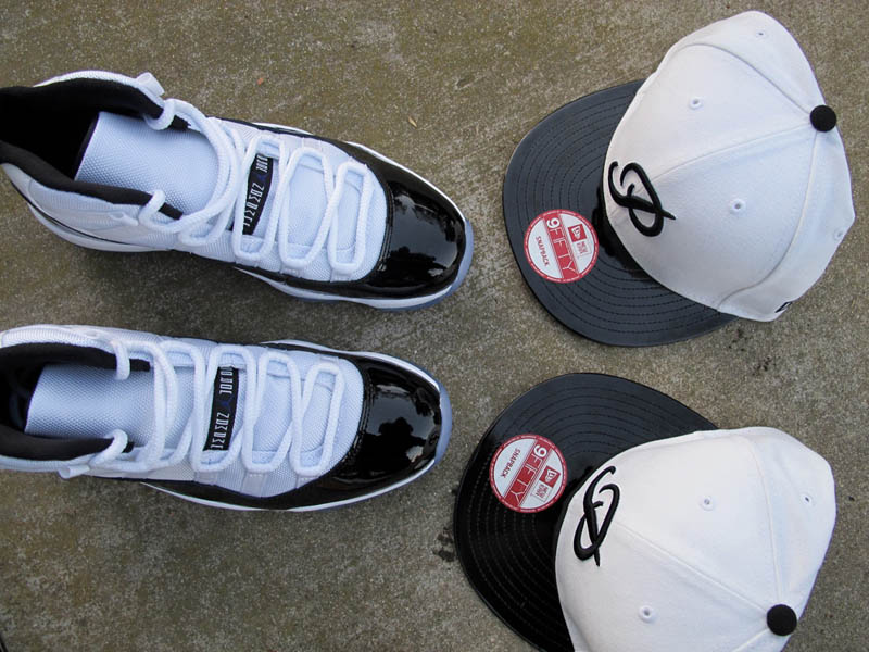 6e60ec371f1 Primitive x New Era Air Jordan XI Snapbacks