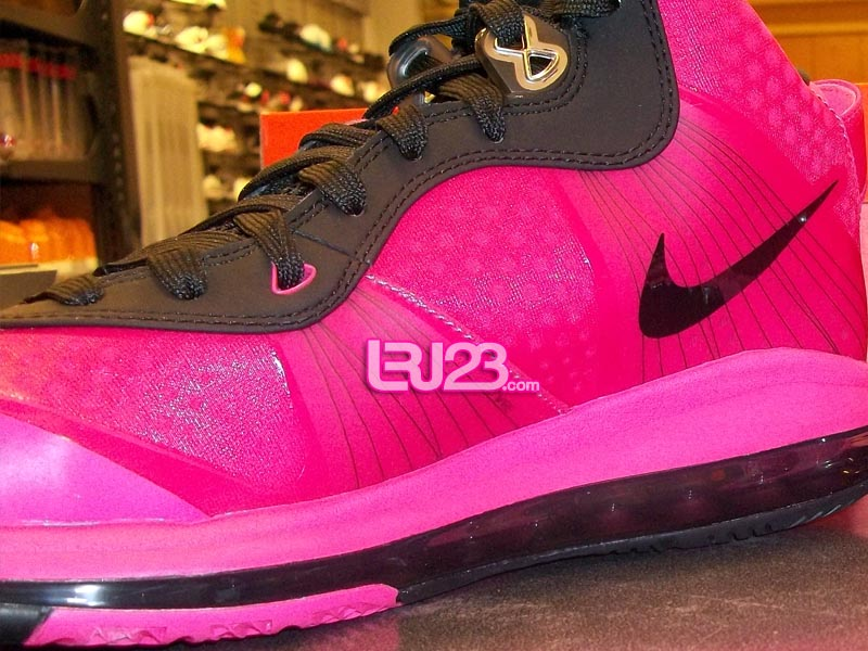 27f3a9705750 Available  Nike Air Max LeBron 8 V 2 GS - Pink Black