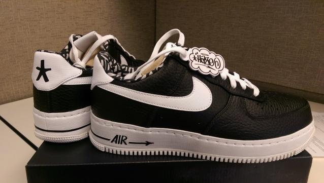 pretty nice 6d7f4 16a7c Kikn N Skatn - HAZE x Nike Air Force 1