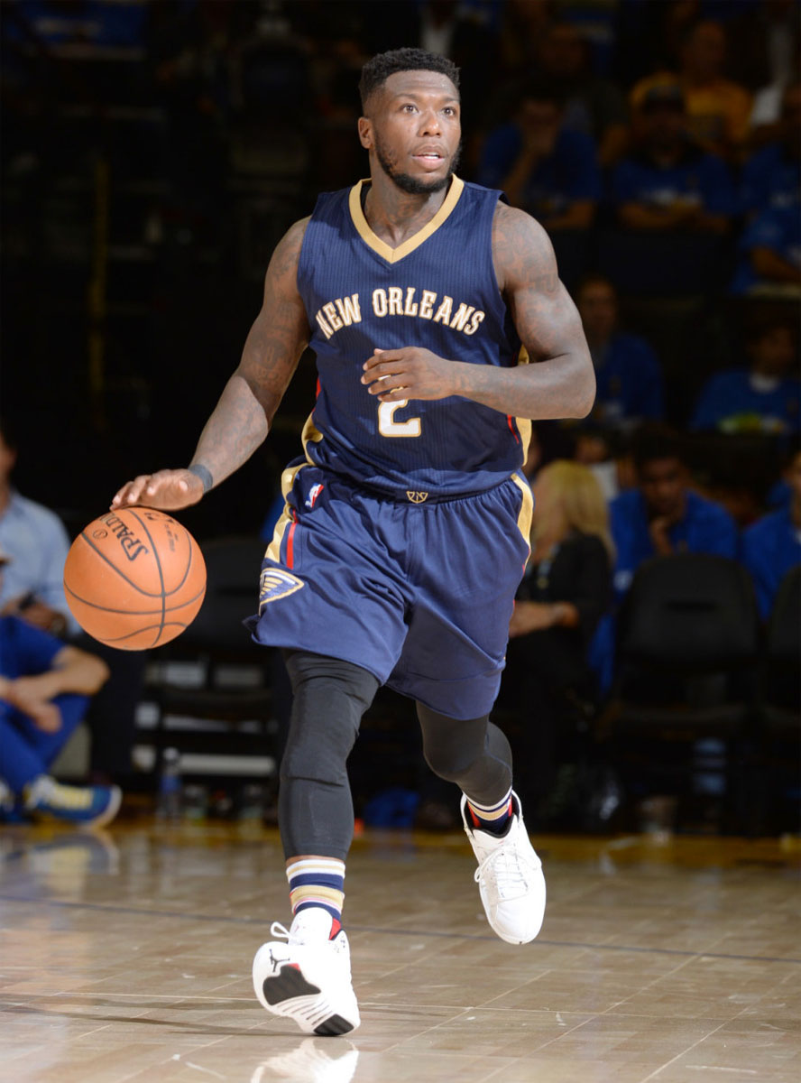 Nate Robinson wearing the 'Rising Sun' Air Jordan 12 (1)