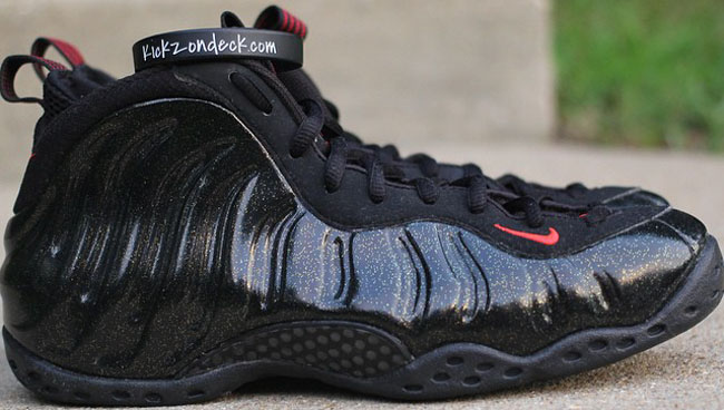 size 40 a132d 84a5b Nike Air Foamposite One Sample With Gold Speckles