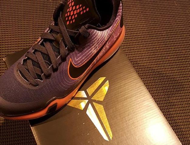 new products 0c2ed 0ae04 Kobe 10 Purple Orange