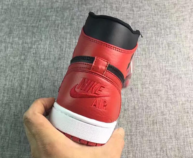 """Air Jordan 1 Rare Air """"Banned"""" heel"""