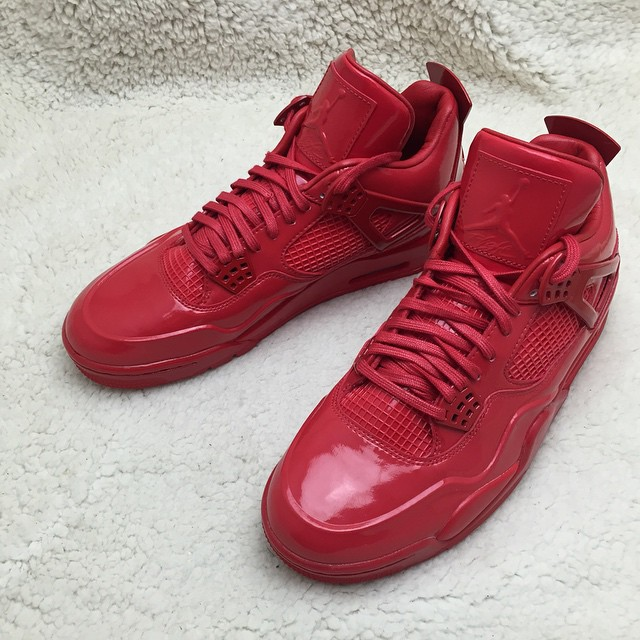 Air Jordan 11Lab4 Red 719864-600 (9)