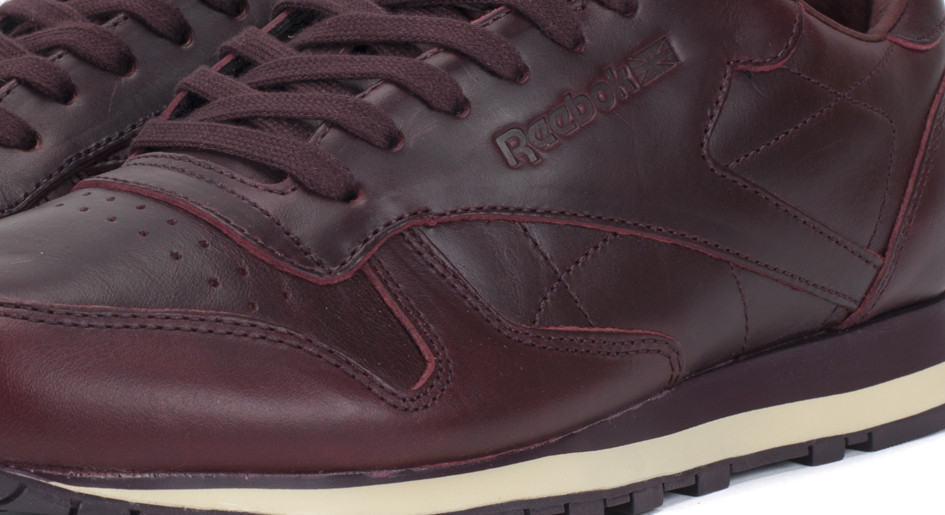 9a3965d3ffb3d Reebok celebrates the the 30th anniversary of the Classic Leather with the  shoe constructed in high quality Horween leather.