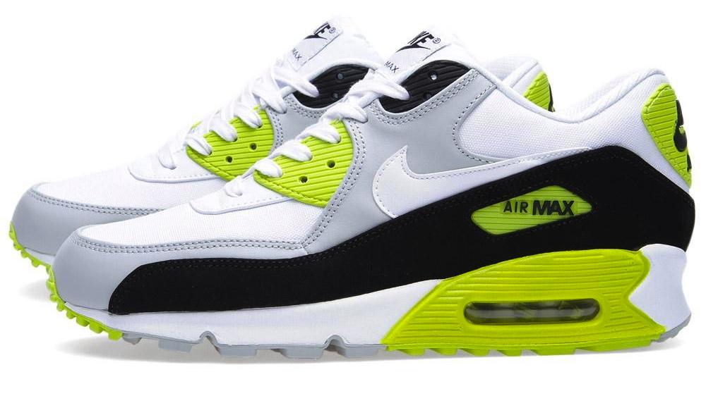 super populaire 4cfa3 57442 Nike Air Max 90 Premium - Strata Grey / White / Cyber | Sole ...