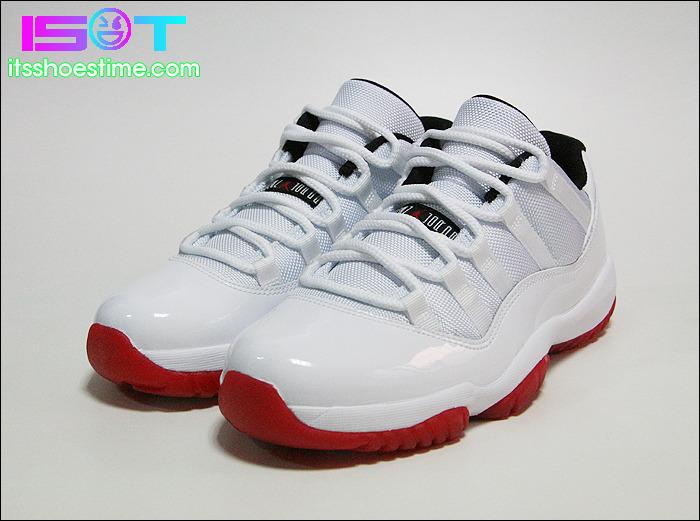 010b08c22e9de6 order air jordan xi retro low white black varsity red approaching release  be754 14144  low cost jordan 11 retro low top b0006 54379