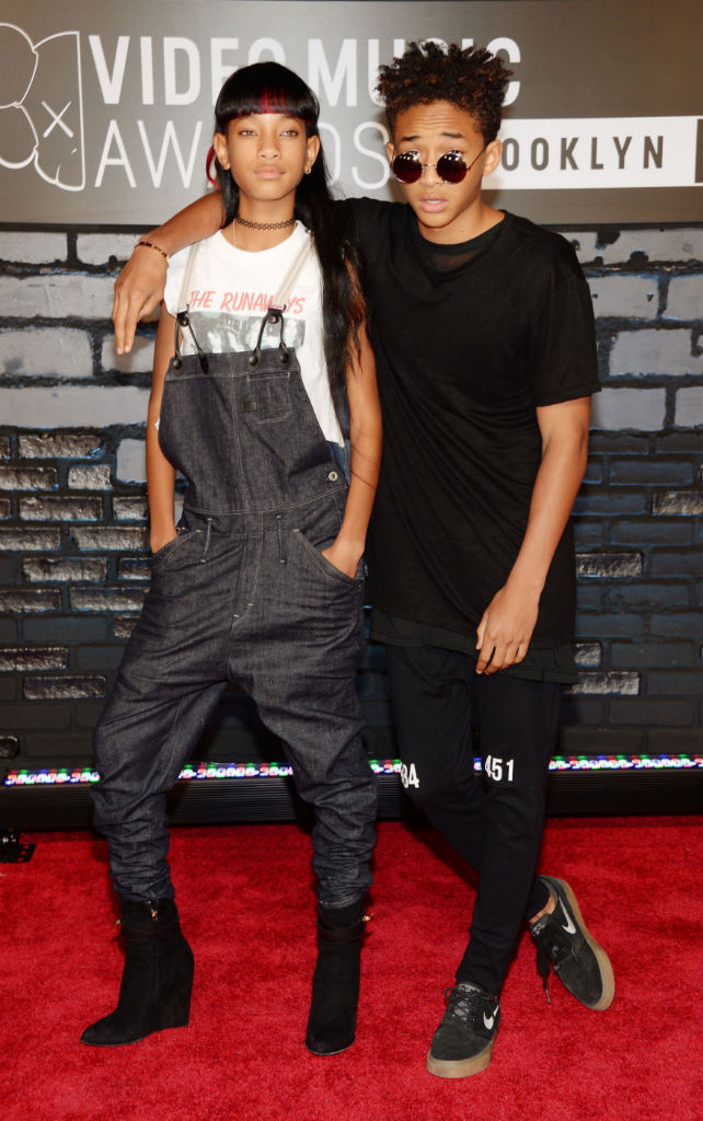 Jaden Smith wearing Nike SB Zoom Stefan Janoski Black Gum