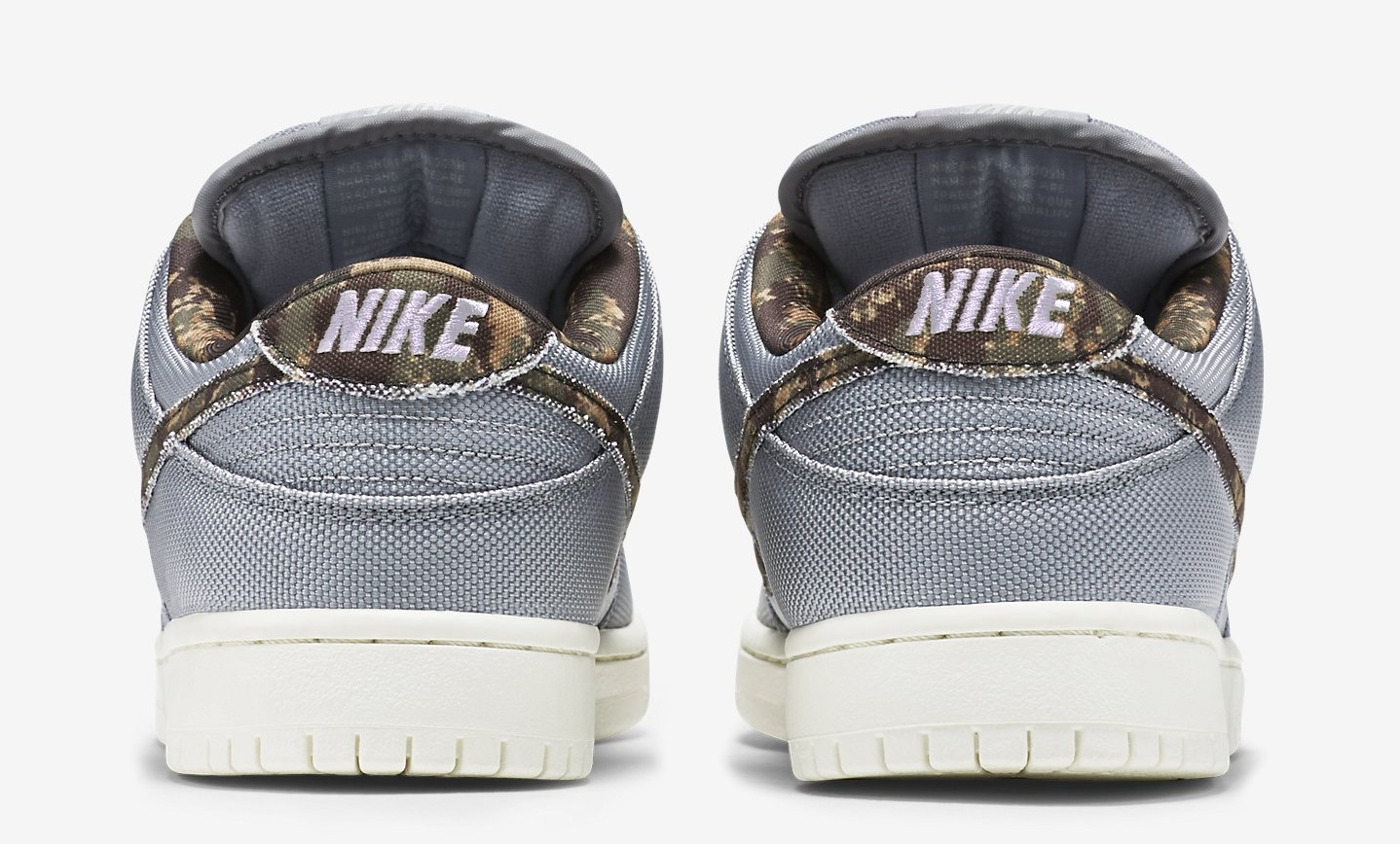 low priced defc4 26d7a A Covert Camo Pair of Nike SB Dunks