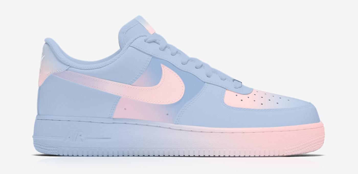 Nike Air Force 1 Rose Quartz