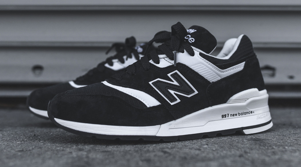 Cheap red black and white new balance