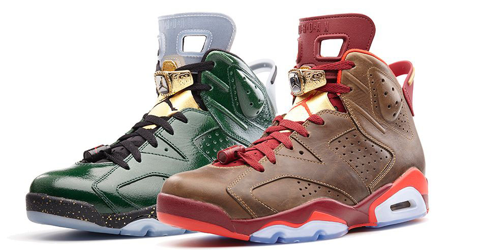 Air Jordan VI 6 Celebration Cigar Champagne