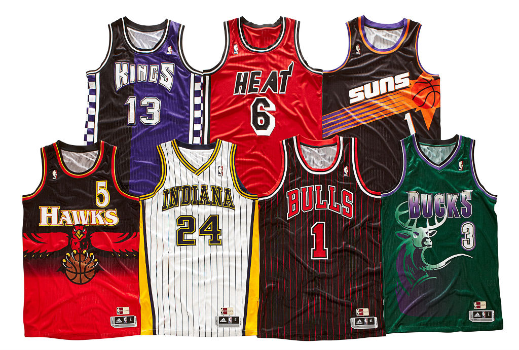 adidas 2012-2013 NBA Hardwood Classics Uniforms