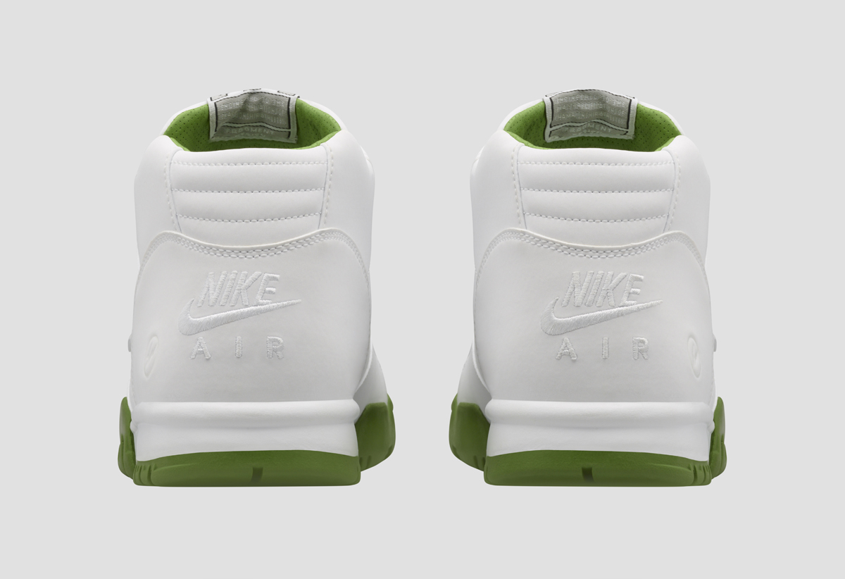 on sale a3b35 13efd Fragment and Nike Collaborate on 'Wimbledon' Air Trainer 1s   Sole ...