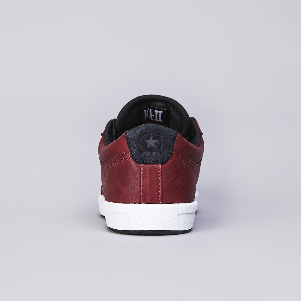 Converse CONS KA-II for Kenny Anderson in cordovan leather heel tab 1a4be5630a