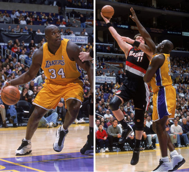 Shaq's 10 Best Games as a Laker // May 20, 2000 vs. Portland Trail Blazers - Dunk.net Chromz