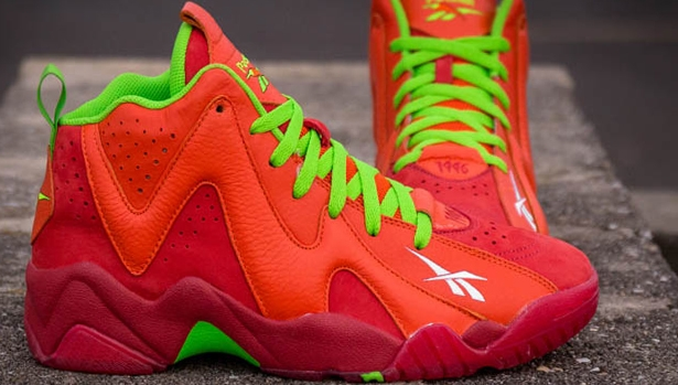 Reebok Kamikaze II Mid Red/Orange-Green