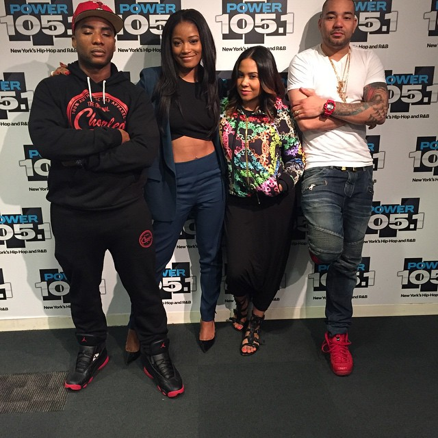 on sale 912df 127c0 ... where can i buy dj envy wearing the gym red nike air foamposite pro  charlamagne wearing