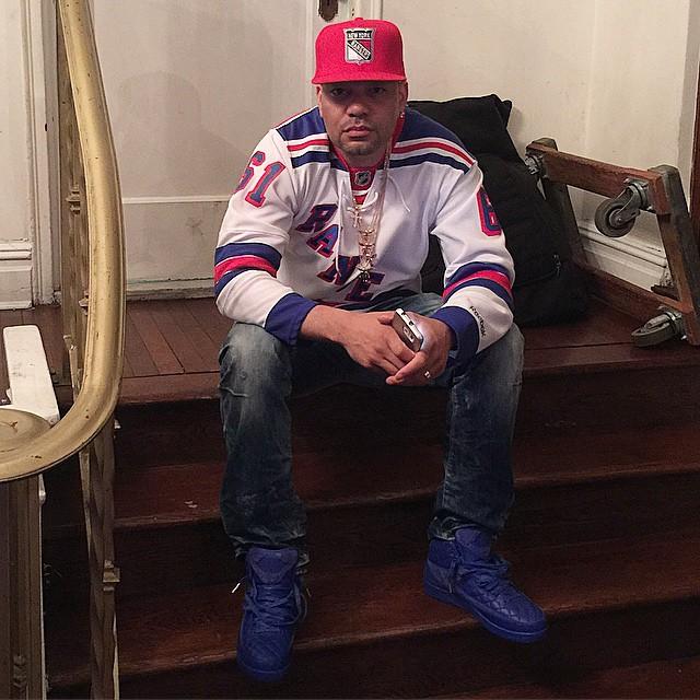 42395b002381 DJ Envy wearing the  Just Don  Air Jordan II 2