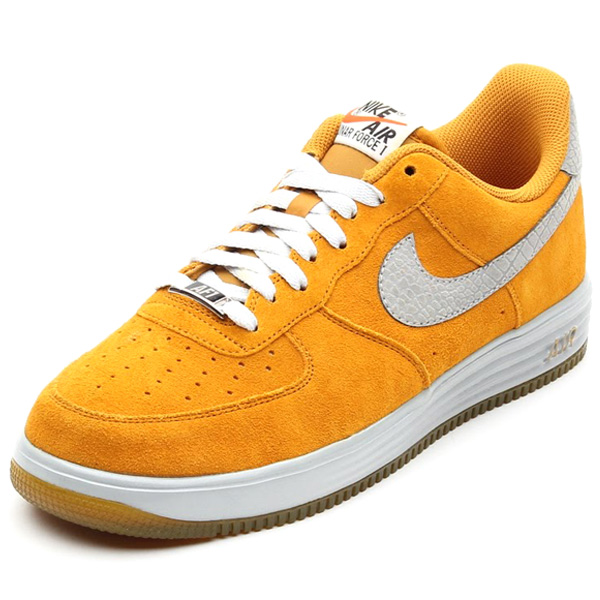 nike lunar force 1 gold suede reflective silver