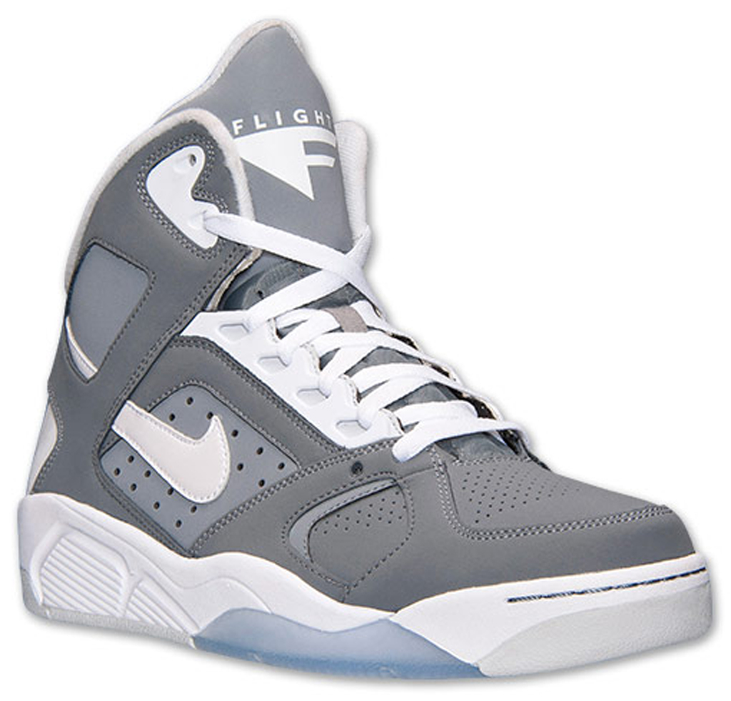3185ab4fc80718 Nike Air Flight Lite High  Cool Grey  Available Now