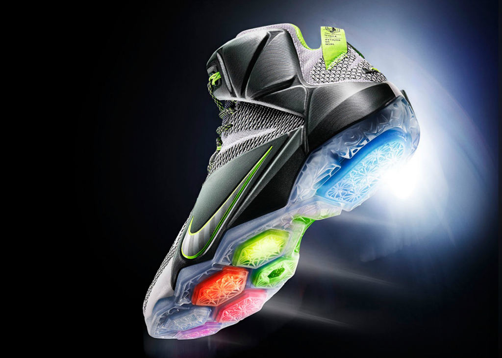a0236bf9a7dd China to Release  Dunk Force  Nike LeBron 12 With Special Packaging ...