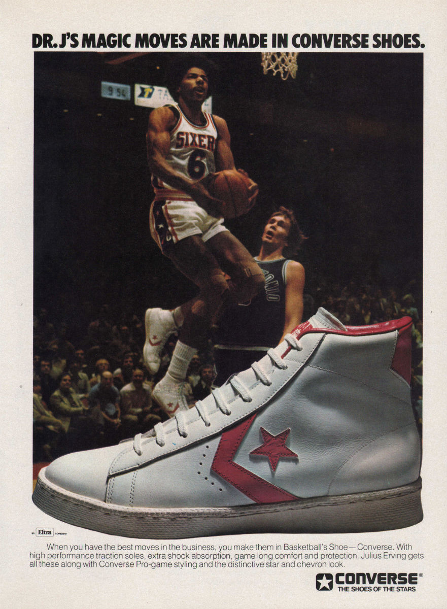 Vintage Ad: Dr. J For Converse Basketball