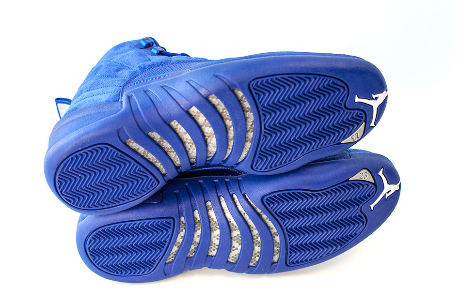 Air Jordan 12 130690-400 Blue Bottom