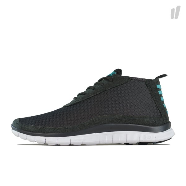 reputable site 5ec7f bd74b Nike Free Woven Chukka - Night Stadium   Sport Turquoise