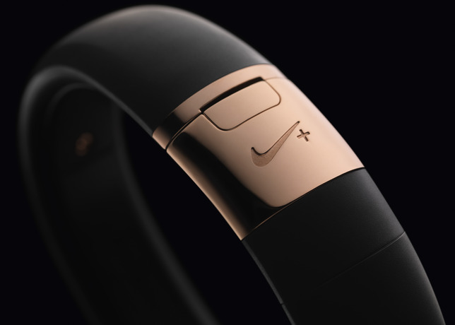 Nike+ FuelBand SE METALUXE Rose Gold detail