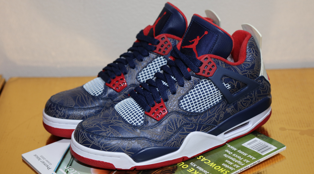 Air Jordan 4 Olympic Laser Melo