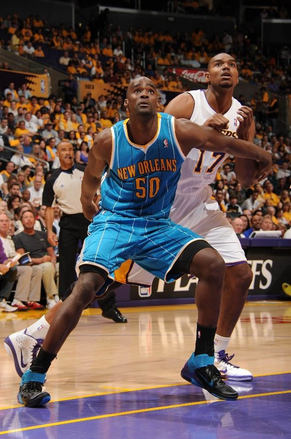 Emeka Okafor wearing the Nike Air Max Fly By
