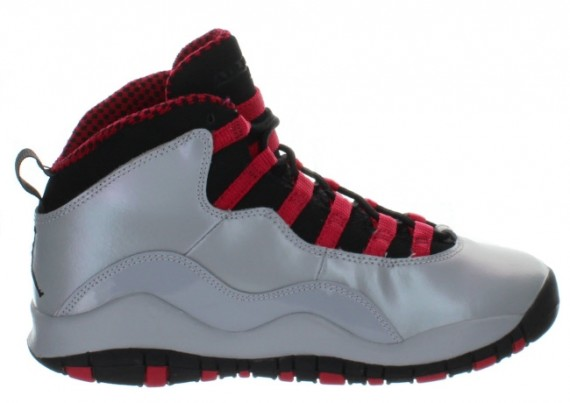The Wolf Grey Black-Legion Red Air Jordan 10 Retro GS is set to release  nationwide on January 11th. 38ea91c0f