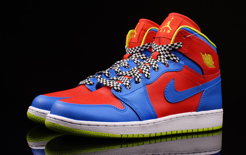 68124d2b5aeee The Air Jordan 1 Is Off to the Races