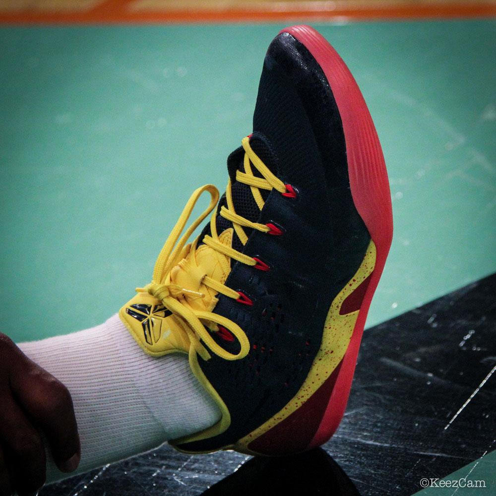 new style 6f5d1 e7b84 Karima Christmas Nike Kobe 9 EM  Indiana Fever  PE (2)