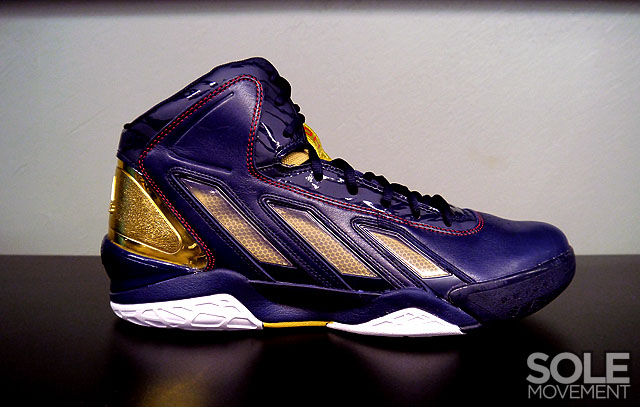 low priced 46f12 fd87d adidas adiPower Howard 3 - Gold Medal
