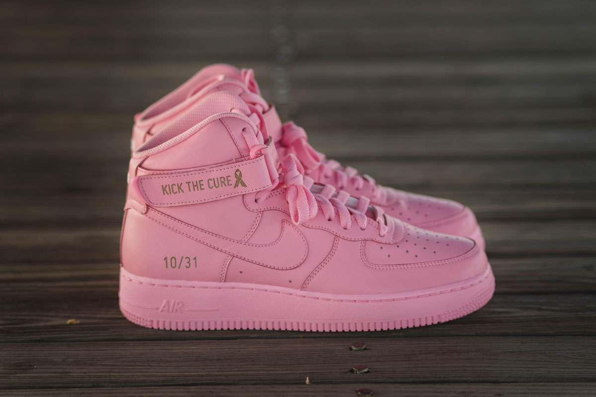 Sneaker Room x Nike Air Force 1 High Pink BCA (1)