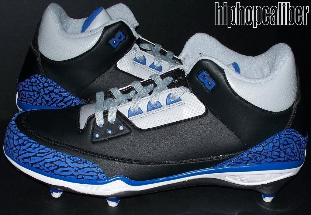 Dwight Freeney's Air Jordan 3 III Colts PE