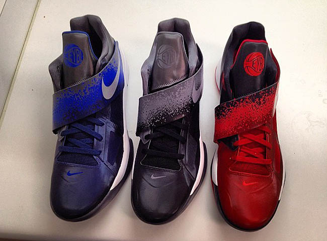 low priced 9a723 ee3db Nike Zoom KD IV - Elite Youth Basketball League Pack