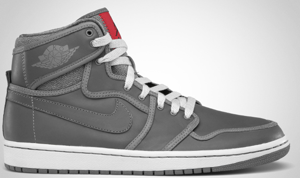 0b59a6a9a1a6 Air Jordan 1 Retro KO High Premium 503539-001 Light Graphite Black-Varsity  Red
